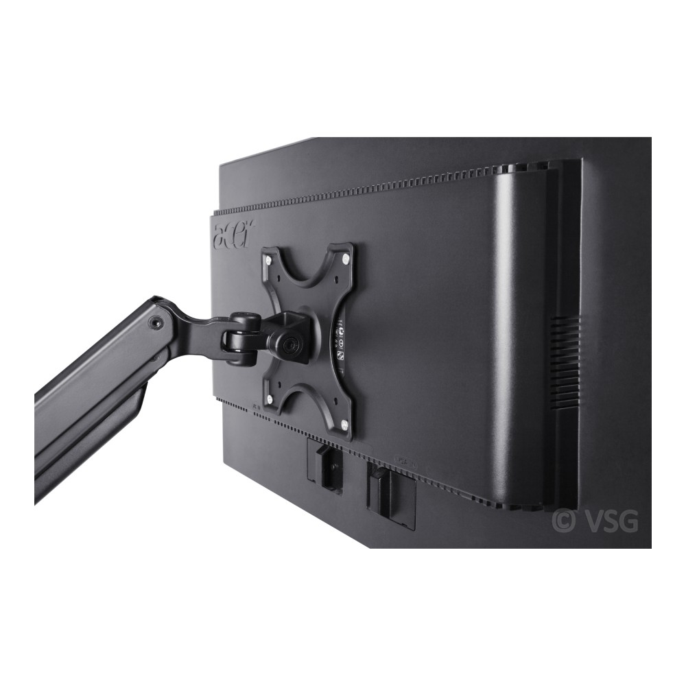 flexo monitorhalterung mit gasdruckfeder f r touchscreens pc monitore kassen pos zubeh r. Black Bedroom Furniture Sets. Home Design Ideas